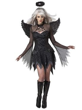 Adult Fallen Angel Costume by Fancy Dress Ball