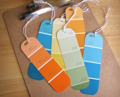 51 best images about Paint Sample Strip Creations on Pinterest