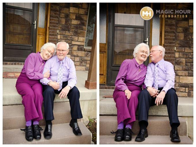 Elderly Couples Poses | AvenueTwelvePhotography - Magic Hour Foundation