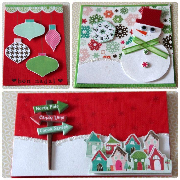 M s de 25 ideas incre bles sobre hermosas tarjetas de - Bonitas tarjetas de navidad ...