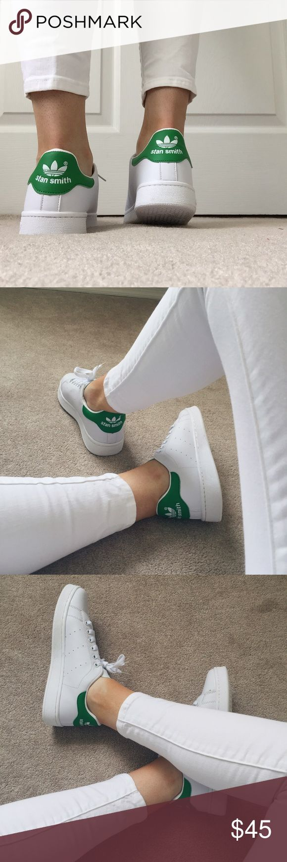 Women's Stan smith Adidas sneakers White/green Stan Smith Adidas sneakers (replica), never worn adidas Shoes Sneakers
