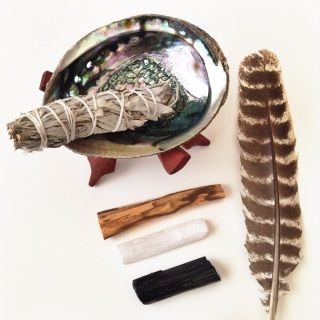 The art of smudging has long been an ancient tradition with the Native Americans and other Tribal cultures, and one I personally do on a regular basis. Used to cleanse, protect, or heal, the herbs in the smudge have beneficial properties and help reconnect us with Mother Earth. The smoke from these herbs is used to clear any unwanted energy before or during a ceremony, within a home, or surrounding an object or person. Smudging is also used to cleanse and clear your crystals and stones. The…