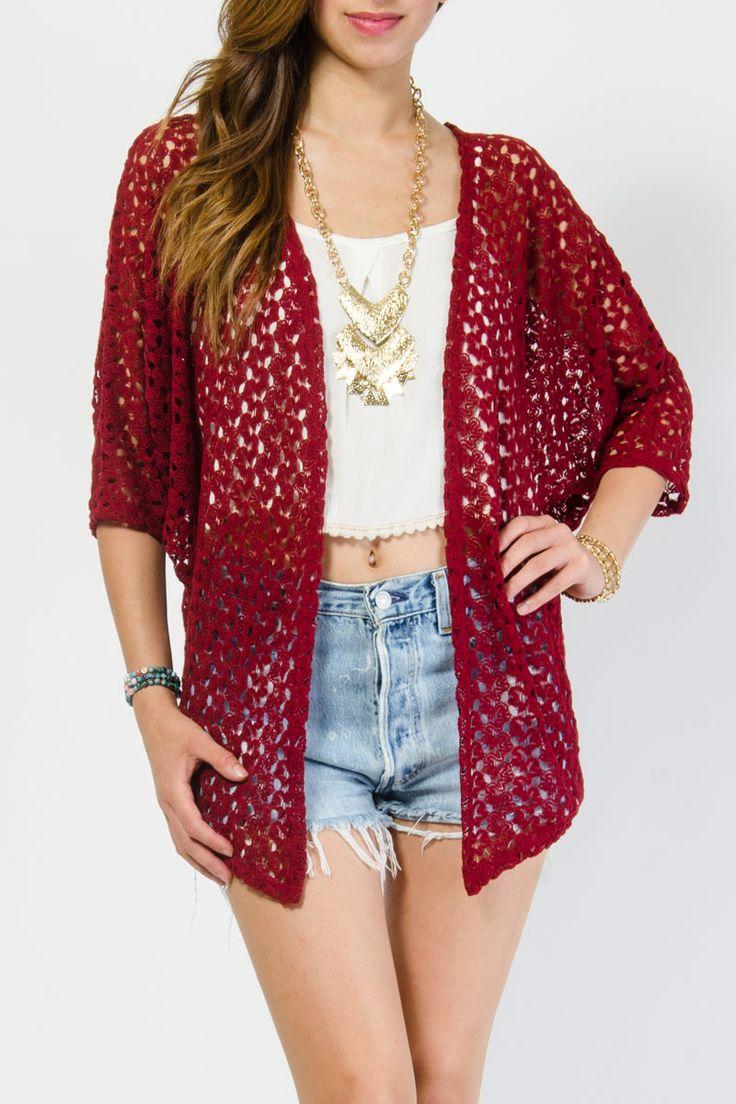 Forever Knit Stylish Cardigan $14.99