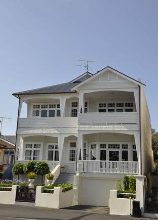 hampton beach house. devonport. nz.