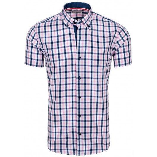 Štýlová károvaná pánska košeľa za skvelú cenu - fashionday.eu