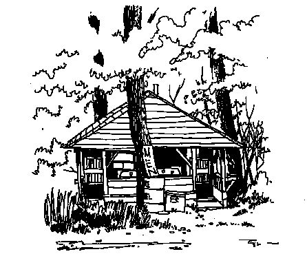 Cabin Clipart Black And White Clipartfest 2