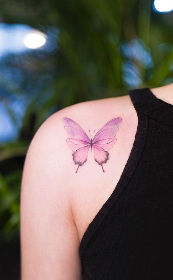 46 Beautiful And Cute Butterfly Tattoo Designs To Get That Charm 2019 Page 40 Of 42 Tattoo Go Butterfly Tattoo Designs Tattoos Butterfly Tattoo Meaning