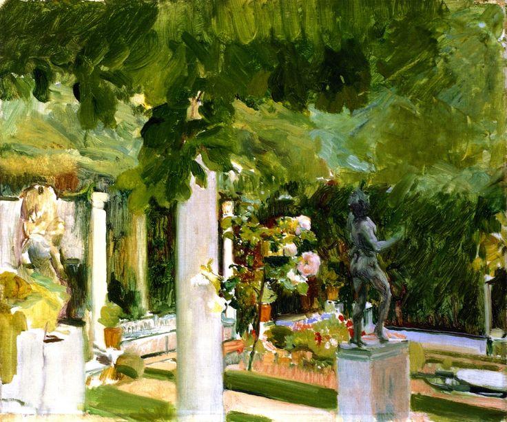 Garden at the Casa Sorolla Joaquin Sorolla y Bastida -