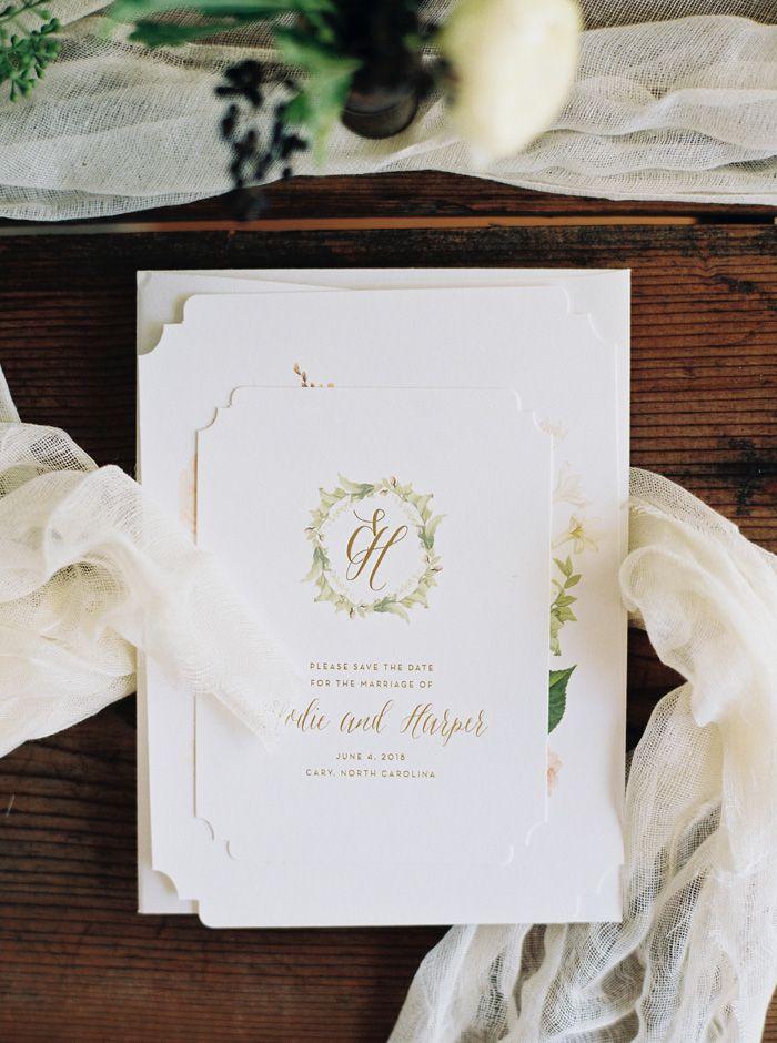 wedding invitations east london south africa%0A Josephine wedding invitations from Bella Figura   Photography by Kate  Ignatowski
