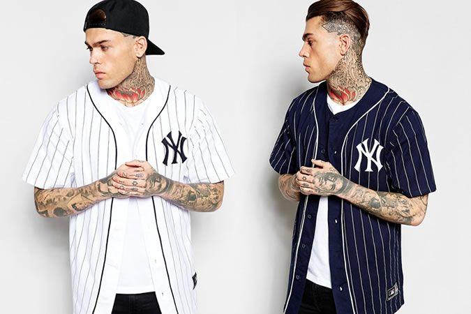 Majestic New York Yankees Longline Baseball Jerseys