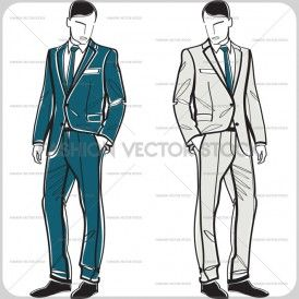 royalty free vector images, vector illustrations, vector fashion sketches, vector stock images of men