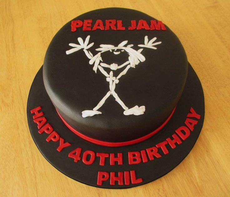 Pearl Jam cake