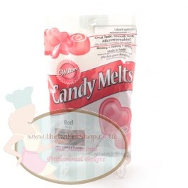 Red Wilton Candy Melts - Perfect for Cake Pops, Sweet Making #Baking
