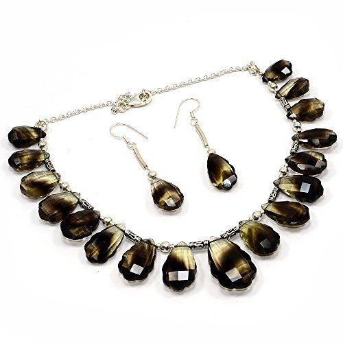 Silvesto Jaipur Bio Lemon Quartz 925 Sterling Silver Necklace Set Gemstone Jewelry PG 7675 Silvesto Jaipur http://www.amazon.com/dp/B01BOTC78I/ref=cm_sw_r_pi_dp_8HVVwb1YJKXPP