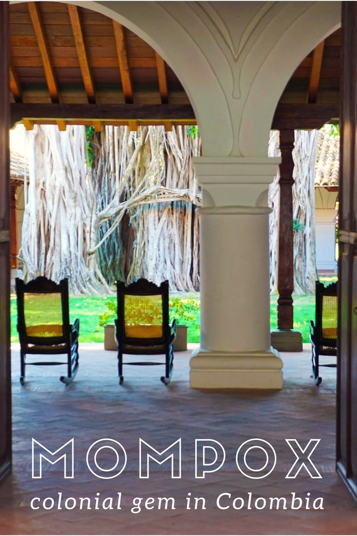 Old World Charm - Guide to Colonial Mompox in Colombia. A UNESCO World Heritage Site. One of the best hotels in Colombia. Colonial style hotel with antique furniture and lap pool. Mompox or Mompos things to do in Colombia ☆☆ Travel Guide / Bucket List Ideas Before I Die By #Inspiredbymaps ☆☆