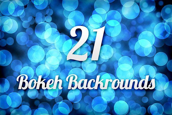 21 Bokeh Backgrounds by Design Panoply on @creativemarket