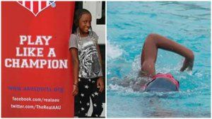 Baltimore student earns swimming medal at 2015 AAU Junior Olympic Games