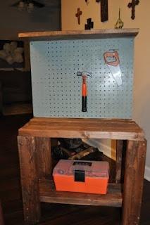 DIY Toddler Tool Bench
