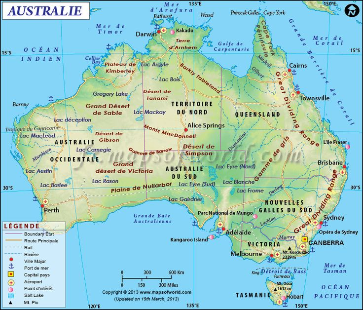 15 best maps in french language images on pinterest worldmap australie carte australia continentaustralia mapwestern gumiabroncs Images