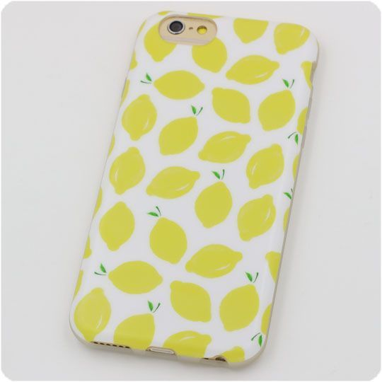 For iphone 6 6s Case 5 5s Case 6 plus 6s plus Cover Silicon Phone Cases Yellow Lemons Cute Fruit Hot Selling 2016 Free Shipping,High Quality phone case tpu,China case Suppliers, Cheap phone case from Jelly Beans' case shop on Aliexpress.com