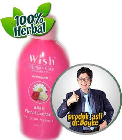 Wish Premium Floral Extract Intimate Dr Boyke. Floral Extract Premium Wish Dokter Boyke Mengesatkan Organ Intim, Menjadikan Organ Intim Bersih dan Harum Sepanjang Hari Dengan Keharuman Yang Menawan.