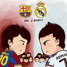 L.messi vs c.ronaldo....... El Clasico Real Madrid vs FC Barca Go Madrid and Ronaldo