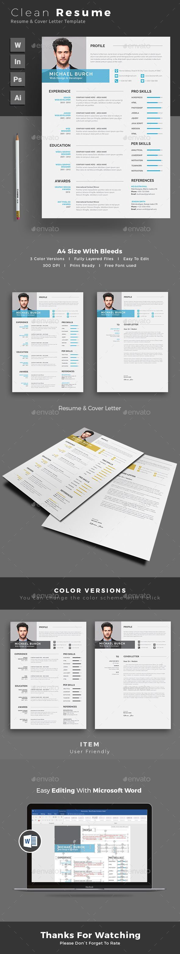 Resume Resumes Stationery Download here 26
