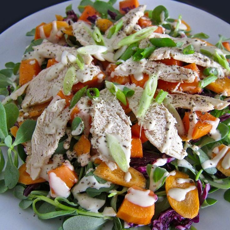 Here's a great summer salad. It works perfectly with leftover chicken. And the sauce is something else! Papaya Chicken Salad …