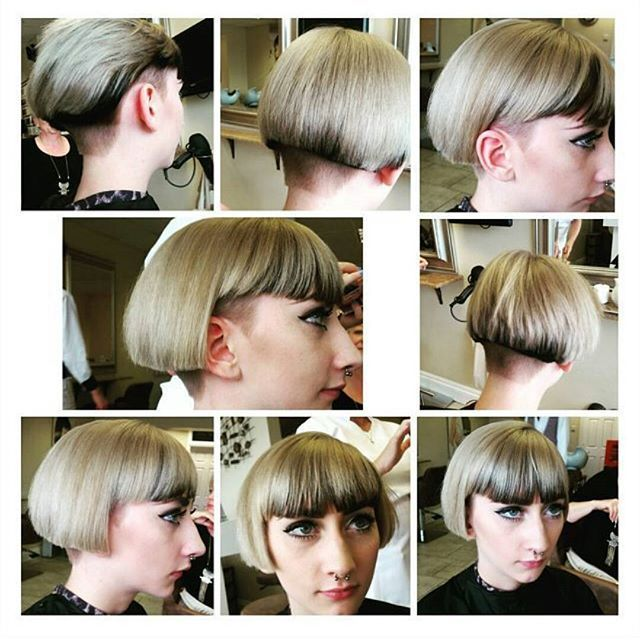 I can honestly say my love for this job grows even more everyday.. I am so #passionate about #hairdressing #lovewhatyoudo #hairtrend #hair2015 #shorthair #undercut #magichands #hairstylist