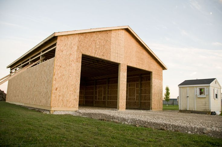Best 25+ Pole Barn Shop Ideas On Pinterest