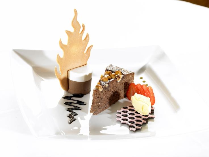 Dessert at The Brehon