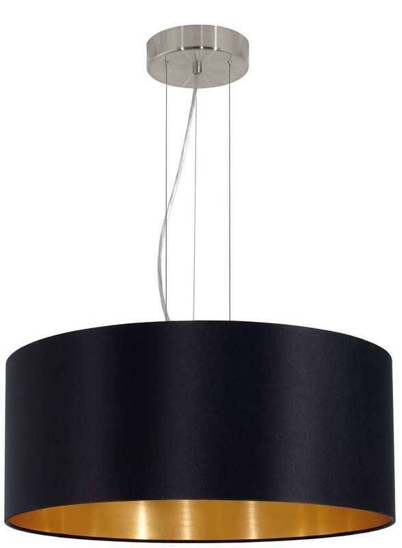 Newville 3 Light Drum Pendant