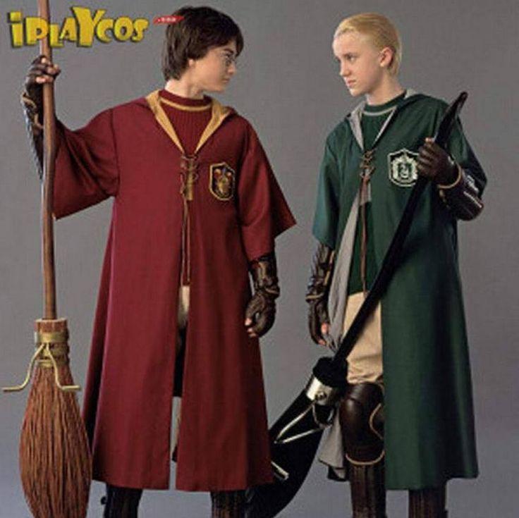 Barato Novo Harry Potter Adulto Robe Manto Gryffindor Slytherin Quadribol cosplay traje, Compro Qualidade Roupas - Bebê diretamente de fornecedores da China: Material: pano Uniformepacote incluindo:só Mantotamanho: S/M/L/XL/2XL100% Brand Newnota: 1.o cor pode ser um