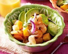 Das Rezept für Fruchtiger Garnelen-Avocado-Salat mit Mango und weitere kostenlose Rezepte auf LECKER.de