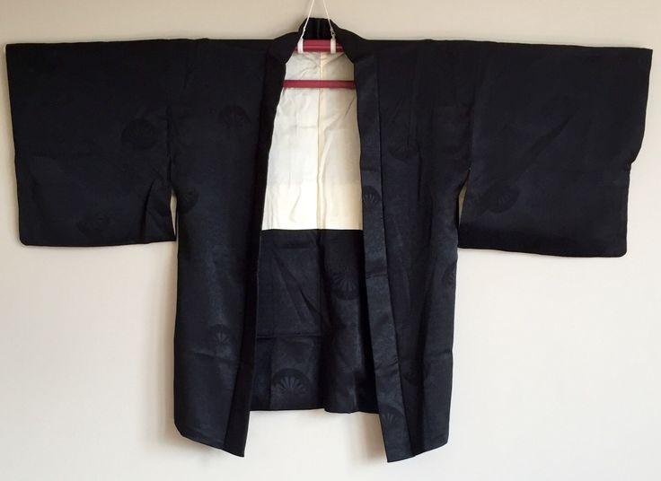 A personal favourite from my Etsy shop https://www.etsy.com/au/listing/477876579/1950s-black-haori-kimono-jacket-boho