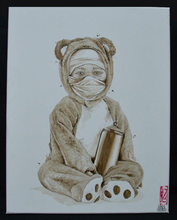 graffiti writer.by SINKE