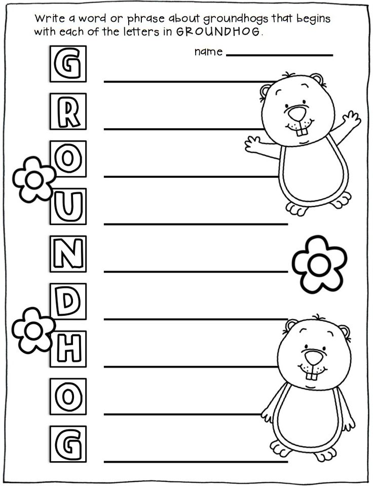 84 best images about Groundhog Day Activities on Pinterest | Mini ...
