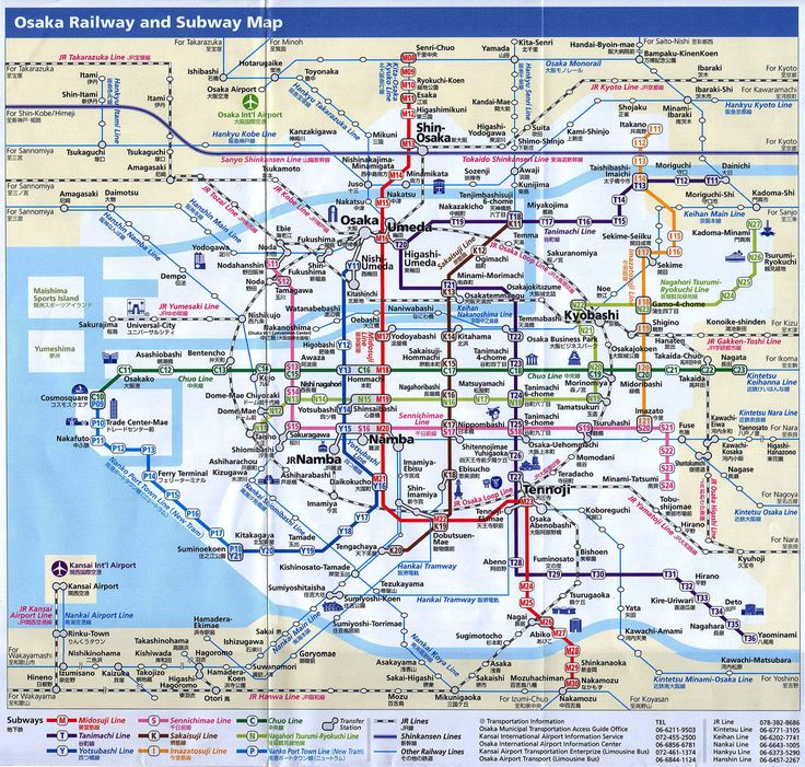 129 best metro maps images on pinterest public transport maps osaka printable maps osaka train and subway map sciox Choice Image