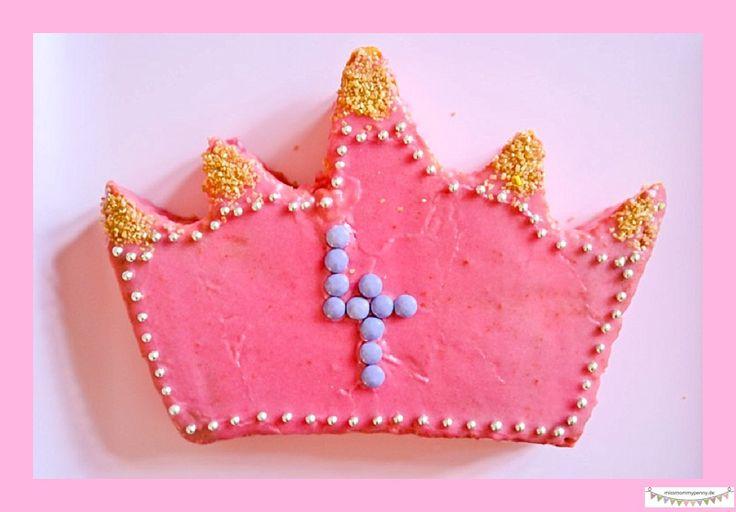 Prinzessinnentorte für die Prinzessinnengebrutstagsparty. Prinzessinnenkuchen einfach und schnell selbermachen.