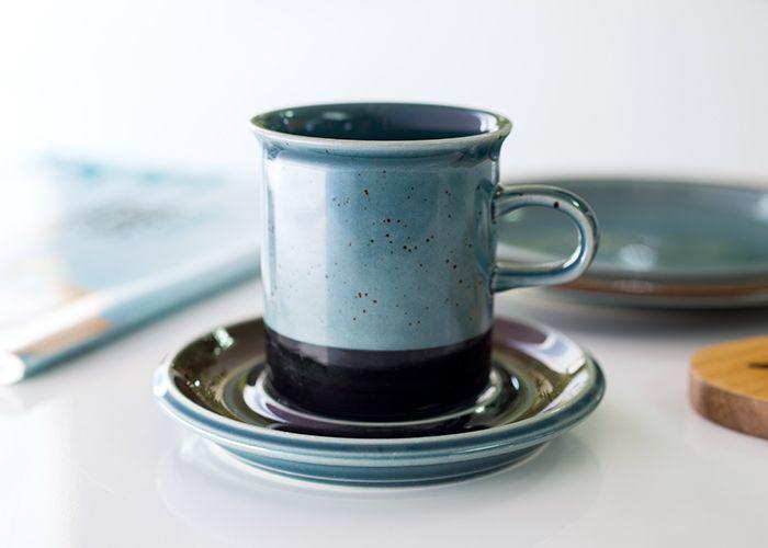 フィンランド語で「海」を意味するメリ アラビア/ARABIA メリ/Meri コーヒーカップ&ソーサー
