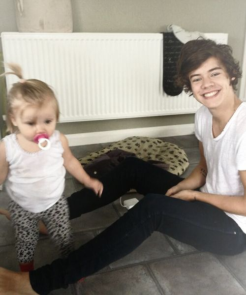 Hazza and Lux...she's growing so big!