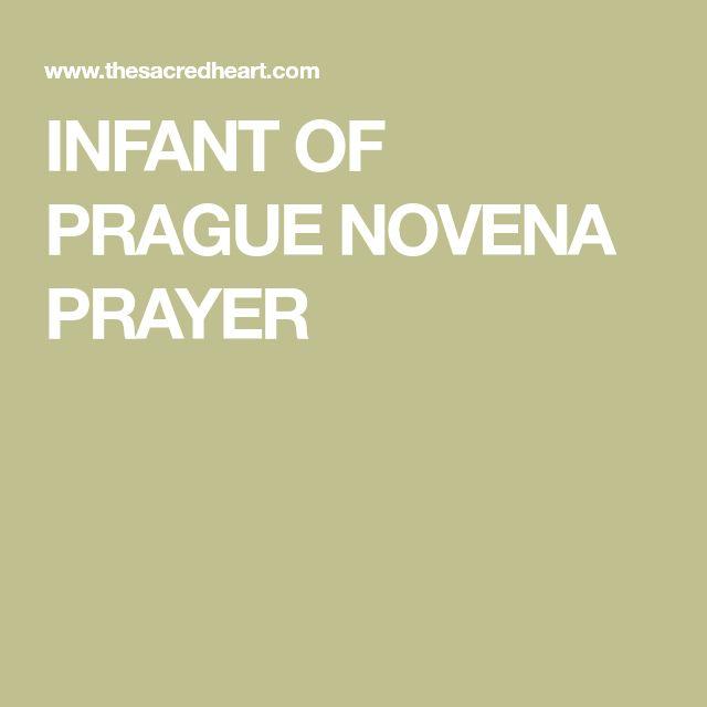 INFANT OF PRAGUE NOVENA PRAYER