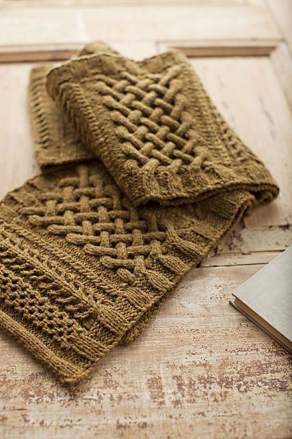 I love the amazing stitches on this Brooklyn Tweed pattern.
