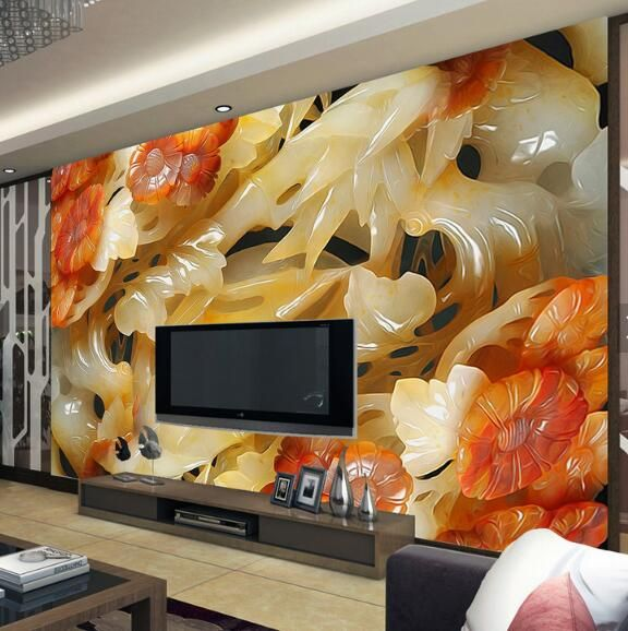 Wonderful Find More Wallpapers Information About 3D Embossed Wallpaper Chinese Style  Pattern TV Background Modern Europe Wall Art Mural For Living Room Large  Painting ... Part 27