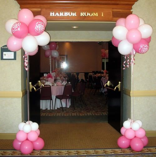 Balloon Topiaries For Entrance & Tables Photo:  This Photo was uploaded by celebrationsdelite. Find other Balloon Topiaries For Entrance & Tables...