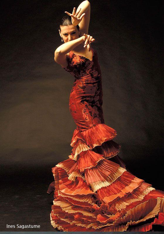 Flamenco Dress: Ruffles Volantes