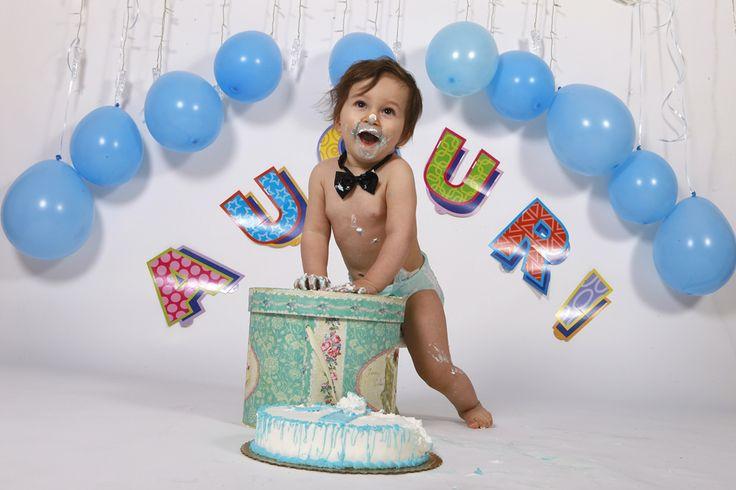 Smash cake per festeggiare il primo compleanno