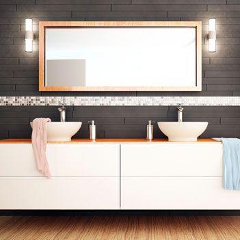 Bathroom Mirror Gold 54 best beautiful bathroom mirrors images on pinterest | large
