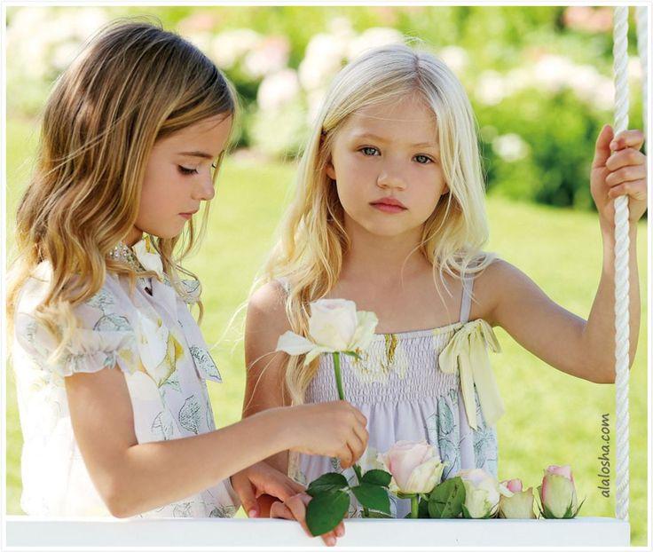Clarise & Phoebe for Miss Blumarine. Kids Fashion Little