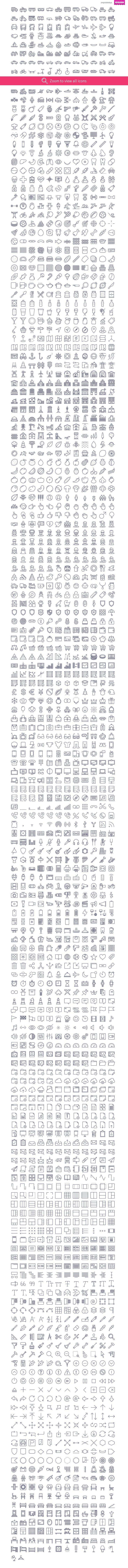 2090 icons in UniGrid set #design Download: https://creativemarket.com/Icojam/107723-2090-icons-in-UniGrid-set?u=ksioks
